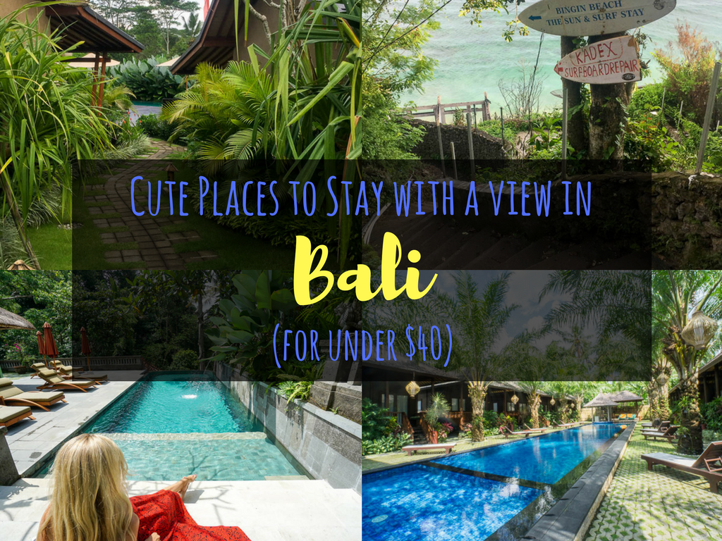 Cute places to stay in bali with amazing views for under for Luxury places to stay in bali